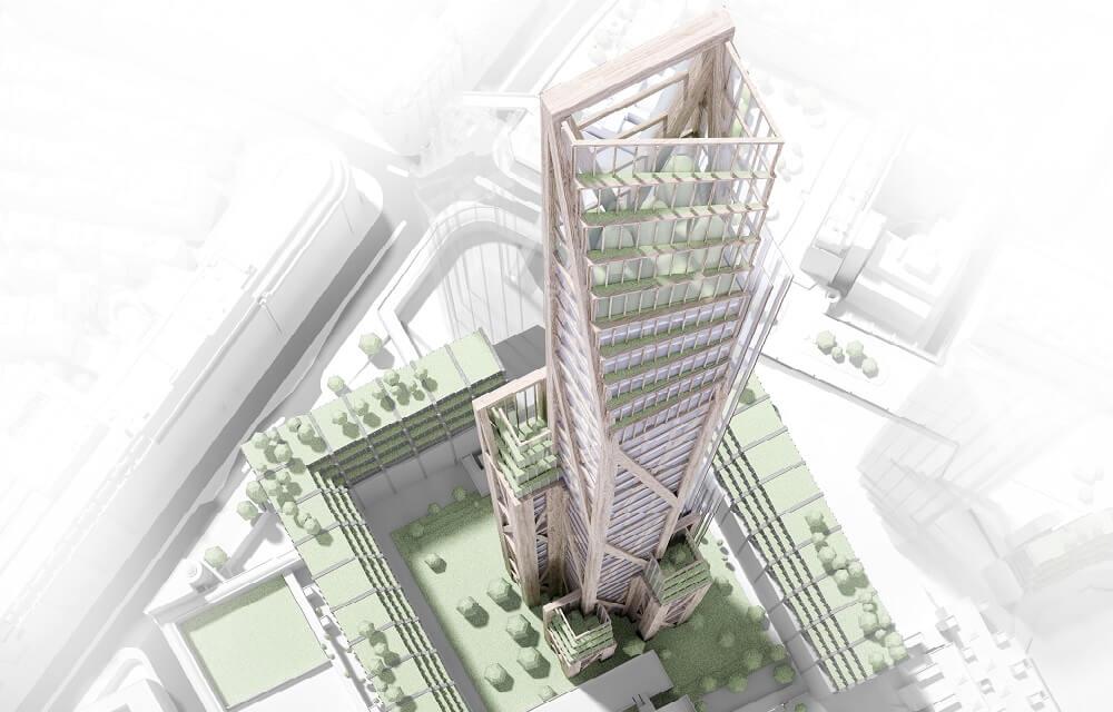 Imagen OakWood Tower, Cambrigde busca el rascacielos del futuro