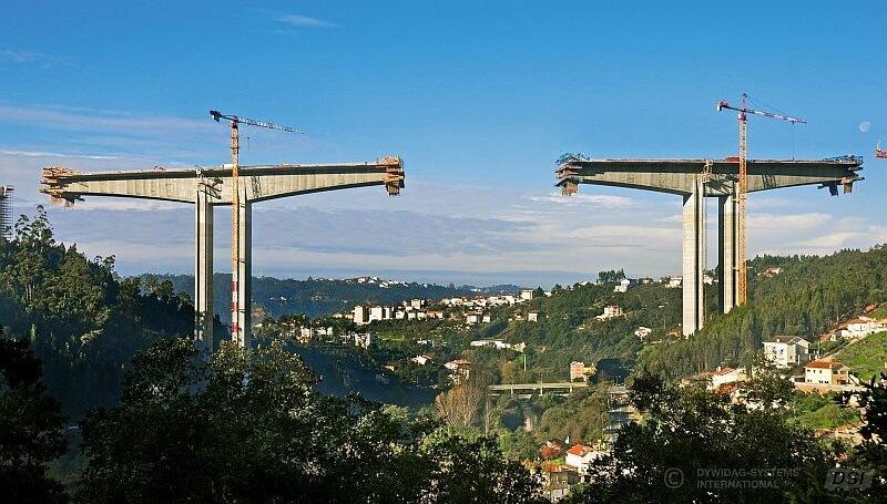 Imagen El puente sobre el Río Ceira: equilibrio con sistemas de postesados