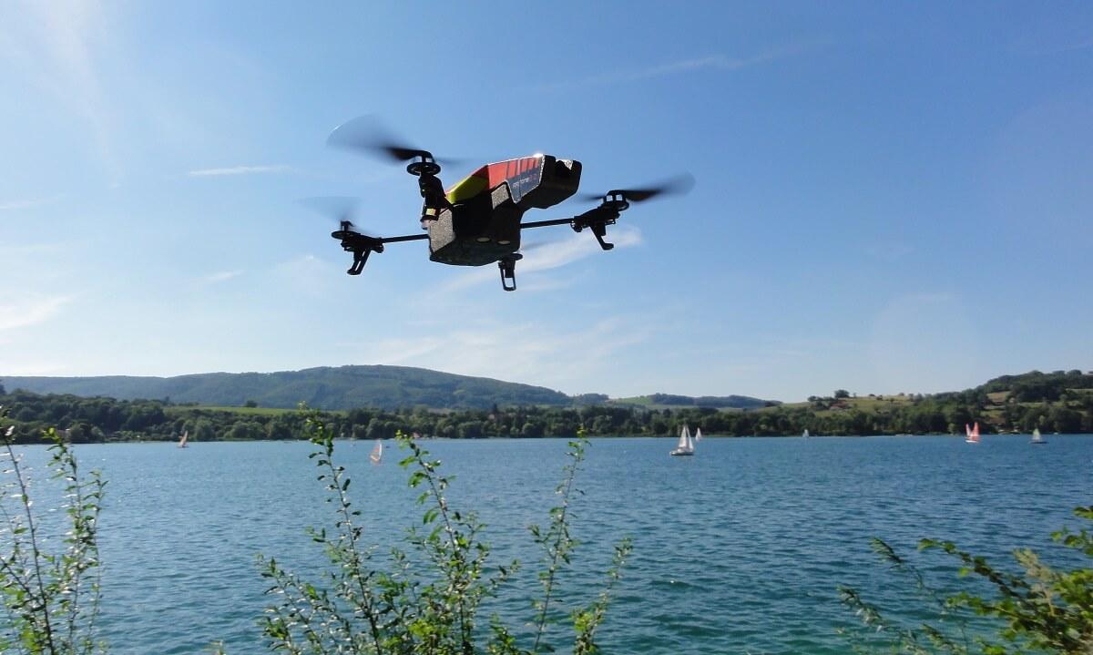Imagen El éxito del dron en la gestión del agua