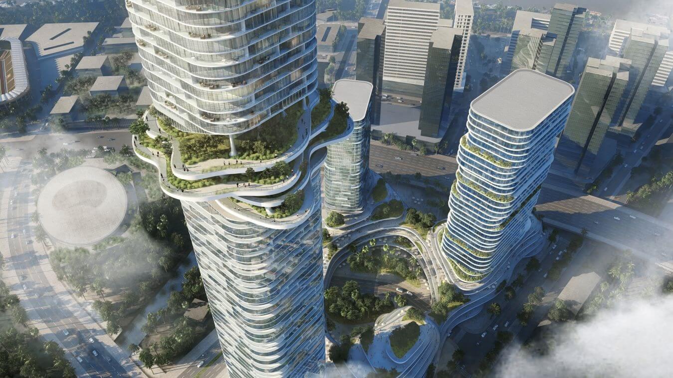 Imagen Empire City: paisaje tropical a ras de cielo en Vietnam