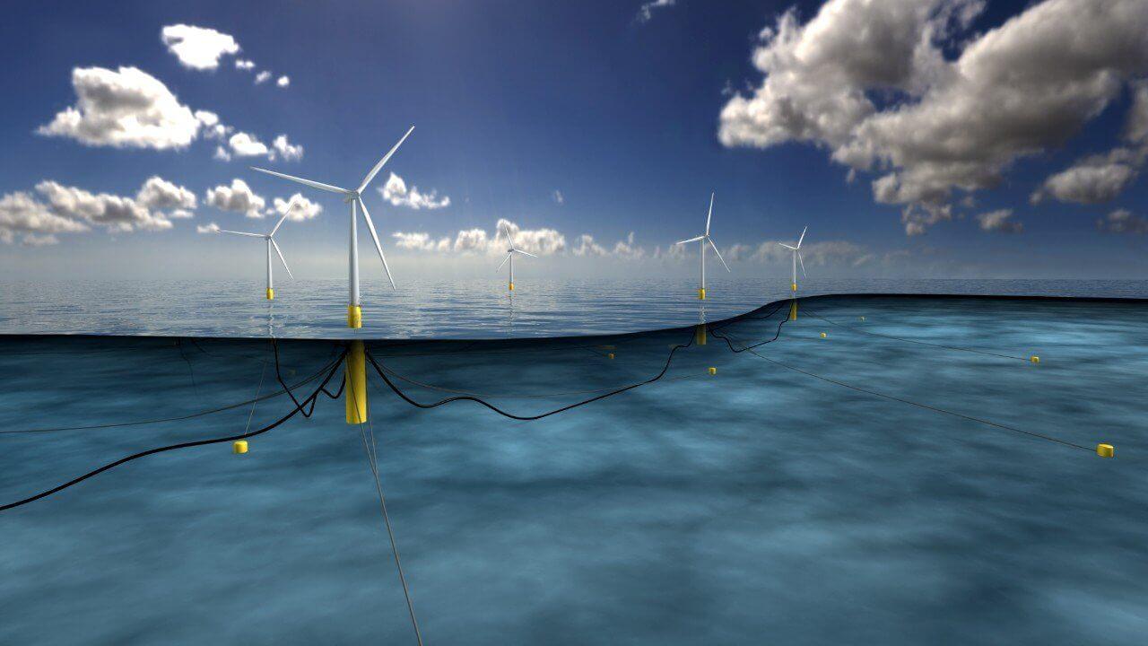 Imagen El primer parque eólico flotante del mundo, en marcha en Escocia