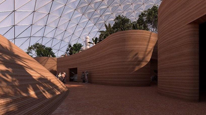 Imagen Dubái simula la vida en Marte: 'Mars Science City'