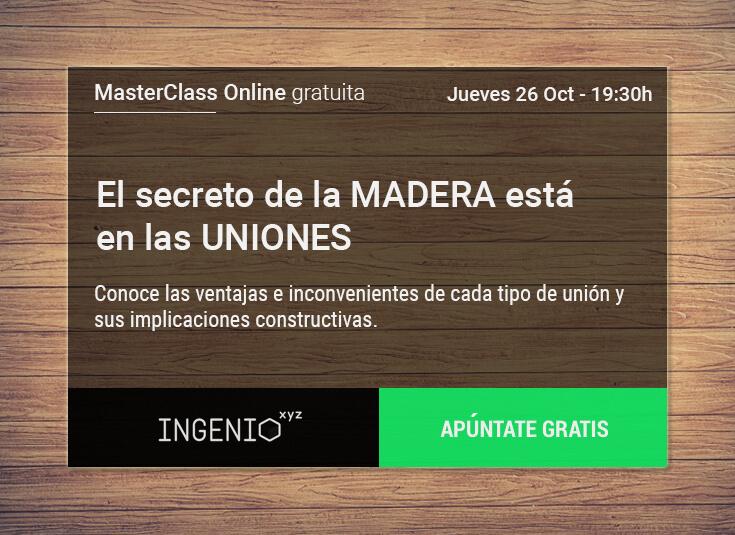 Imagen Masterclass - El secreto de la madera está en las uniones