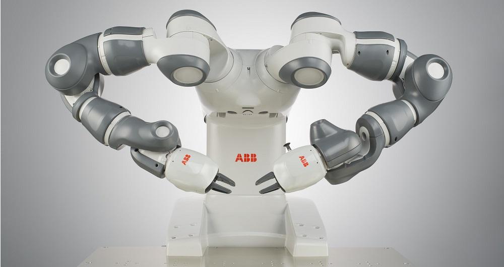 Imagen Robot YuMi de ABB: un ejemplo real de sistema robótico